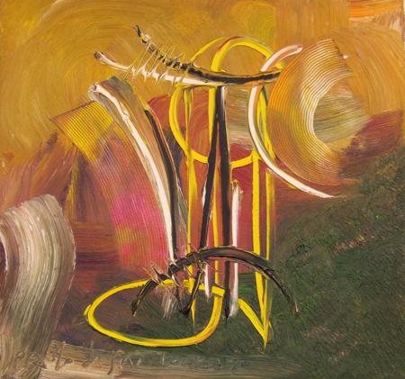 Paolo da San Lorenzo - Composizione astratta