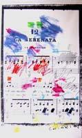 Quadro di  Giuseppe Chiari - La Serenata - tela