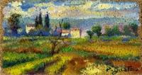 Quadro di  Luigi Pignataro - Paesaggio Óleos tabla
