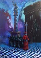 Quadro di  Luigi Pignataro - Composizione Óleos cartÓn