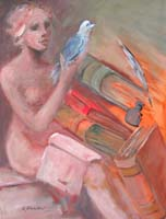 Quadro di  Umberto Bianchini - Comunicare cultura mixta tela