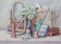 Quadro di  Umberto Bianchini - Composizione mixta tela
