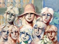 Quadro di  Umberto Bianchini - Gruppo mélange toile