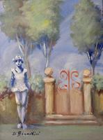 Quadro di  Umberto Bianchini - Esterno Óleos tela