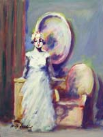 Quadro di  Umberto Bianchini - Figura femminile Óleos tabla