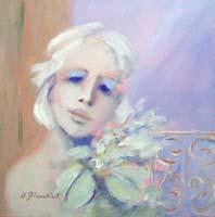 Quadro di  Umberto Bianchini - Balcone Óleos tela