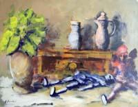 Quadro di  Umberto Bianchini - Composizione acrÍlico tela