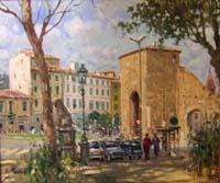 Quadro di  Graziano Marsili - Porta Romana huile toile