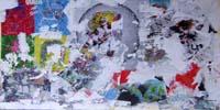 Quadro di Andrea Tirinnanzi - Omaggio ai Queen decollage cartone