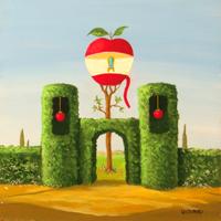 Quadro di  Franco Lastraioli - Il giardino dei sogni huile tableau