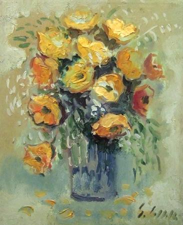 Emanuele Cappello - Vaso con fiori