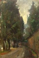 Quadro di  Gino Tili - Paesaggio Óleos tabla
