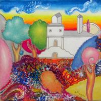 Quadro di  Luca Alinari - Seza titolo huile toile