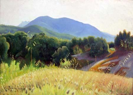 Valentino Ghiglia - Paesaggio