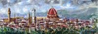 Quadro di  Loredana Rizzetto - Panorama Óleos tabla