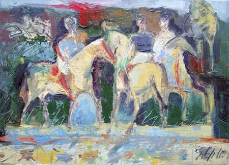 Emanuele Cappello - Corsa di cavalli