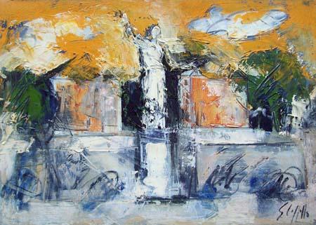 Emanuele Cappello - Statua