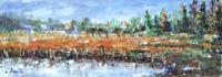 Work of Loredana Rizzetto - Paesaggio  oil table