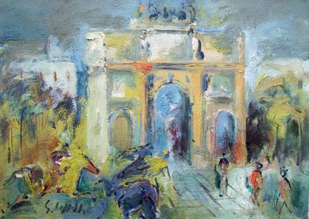 Emanuele Cappello - L'Arco di Trionfo