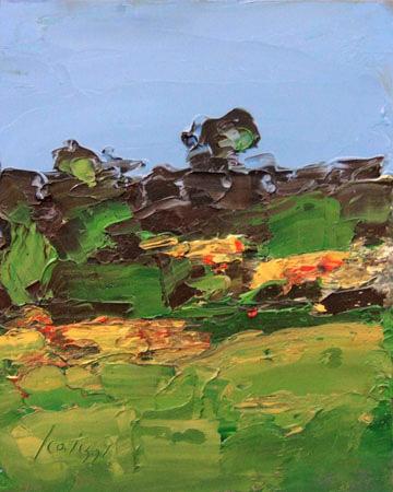 Quadro di  Sergio Scatizzi - Paesaggio Óleos tabla