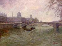 Quadro di  Gino Paolo Gori - Parigi huile toile