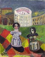 Quadro di  Roberto Panichi - Matroncini huile tableau