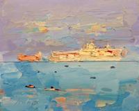 Work of Sergio Scatizzi - Venezia oil table