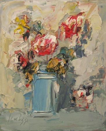 Sergio Scatizzi - Vaso con fiori