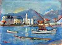 Work of Giorgio Casini - Marina oil table