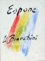 Quadro di  Umberto Bianchini - Locandina Óleos tela