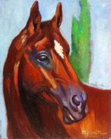 Quadro di  Luigi Pignataro - Cavallo Óleos tela