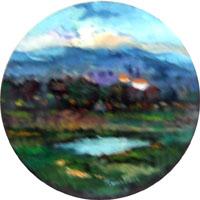 Quadro di  Luigi Pignataro - Campagna Óleos tabla