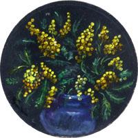 Quadro di  Luigi Pignataro - Mimosa Óleos tabla
