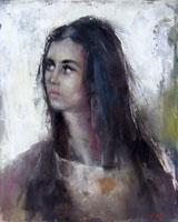 Quadro di  Gino Tili - Ritratto Óleos tela