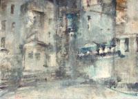Quadro di  Lido Bettarini - Paesaggio fiorentino Óleos tabla