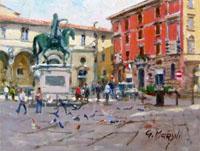 Quadro di  Graziano Marsili - S.S. Annunziata huile tableau