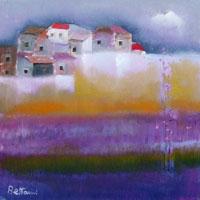 Quadro di  Lido Bettarini - Paesaggio Óleos tela