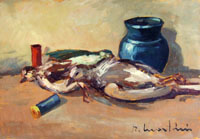 Work of Renzo Martini - Natura morta oil table