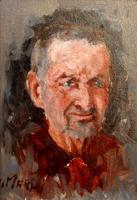 Quadro di  Graziano Marsili - L'agnellaio di S. Ambrogio huile tableau