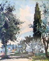 Quadro di  Michele Ortino - Paesaggio Óleos tela