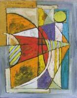 Quadro di  Paolo da San Lorenzo - Papillon olio tela