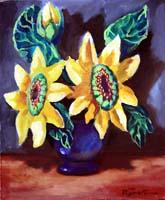 Quadro di  Luigi Pignataro - Flowers Óleos tela