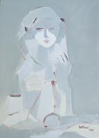 Quadro di  Lido Bettarini - Maternità Óleos tela