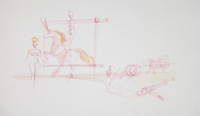 Quadro di  Claude Falbriard - Composizione mixta papel