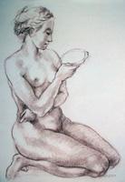 Work of Felice Carena  Nudo