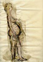 Quadro di  Beppe Fabbrini - Maternità mixta papel