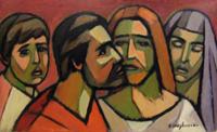 Work of Dino Migliorini  Il bacio di Giuda