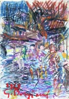 Quadro di  Guido Borgianni - Figure mixta papel