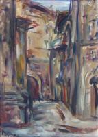Work of Enzo Pregno  Scorcio di Firenze