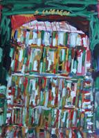 Quadro di  Silvio Loffredo - Battistero acrylique carton